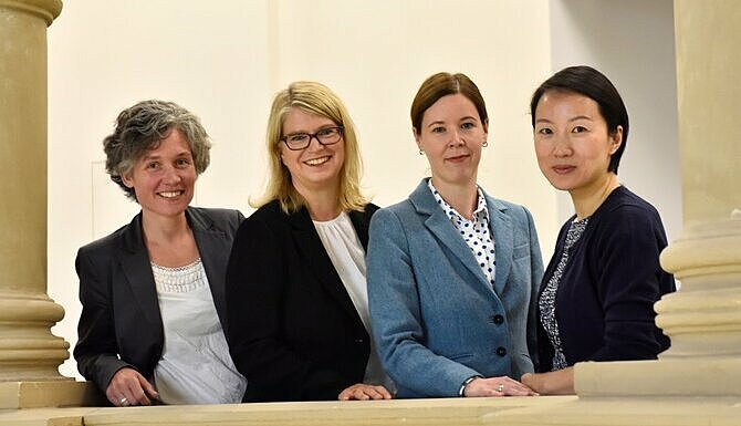 China-Kompetenzzentrum China, Competence Center, 杜塞尔多夫中国事务中心, Annette Klerks, Simone Menshausen, Elisabeth Inhester, Qi Xia-Wesp
